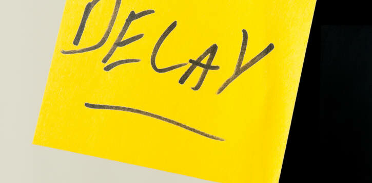 Delay post-it